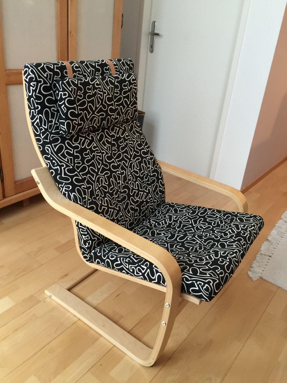 Ikea Sessel Poäng Bezug