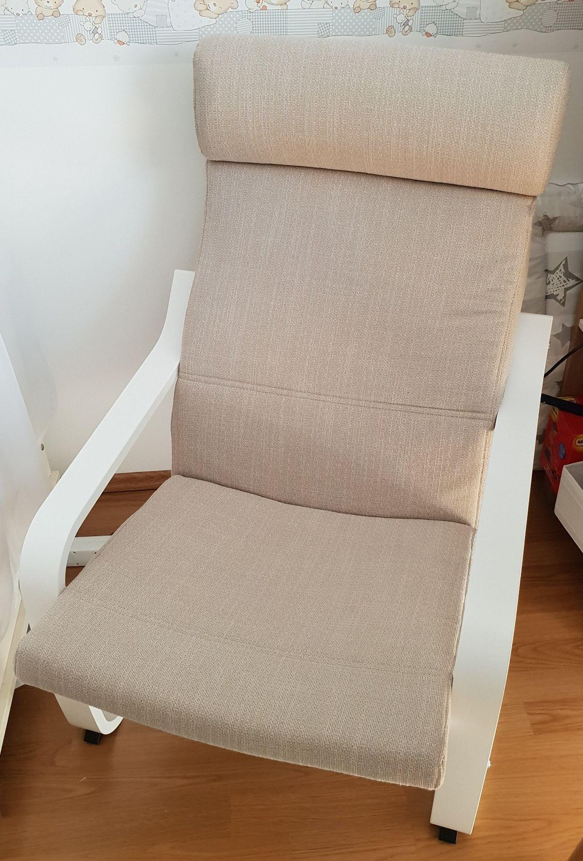 Ikea Sessel Poäng Weiss