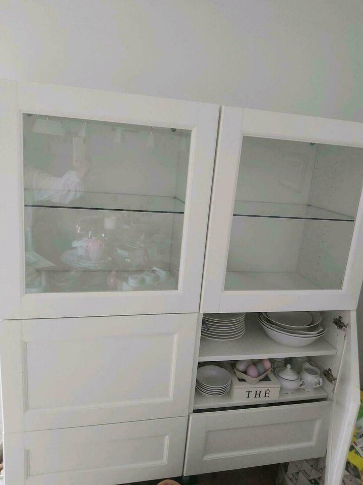 Ikea Sideboard Weiß Glas