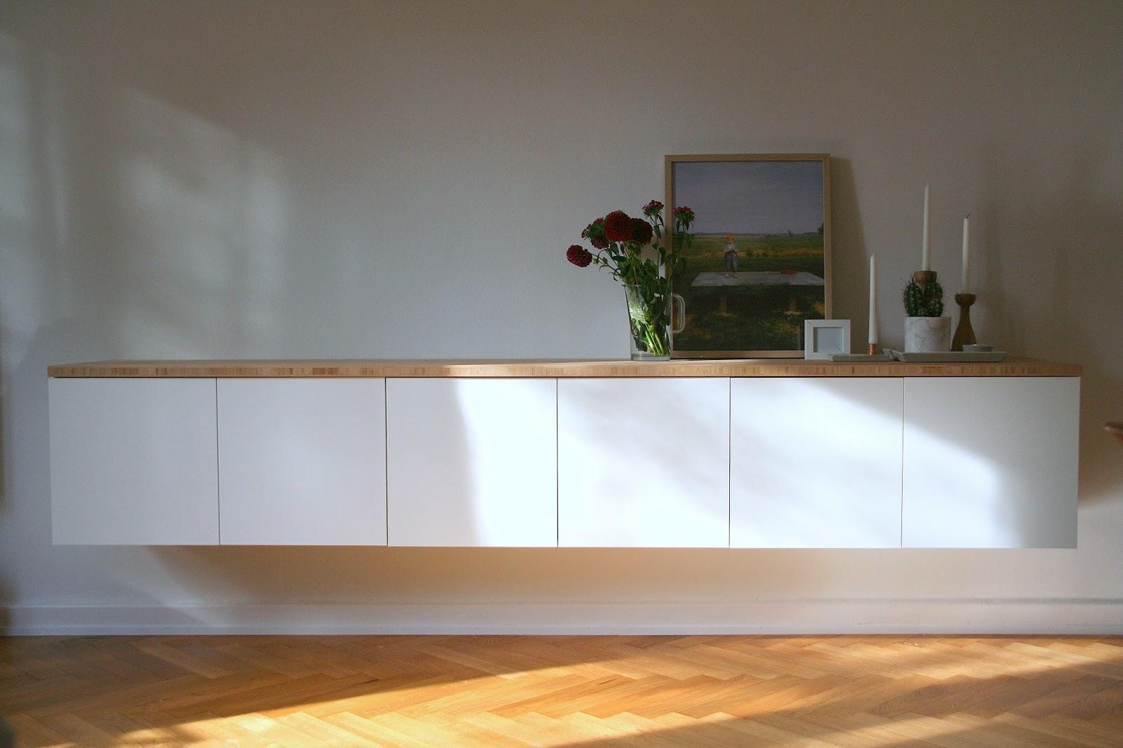 Ikea Sideboard Weiß Hochglanz Hängend