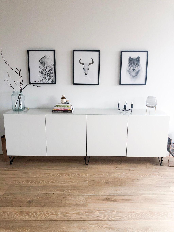 Ikea Sideboard Weiß Holz