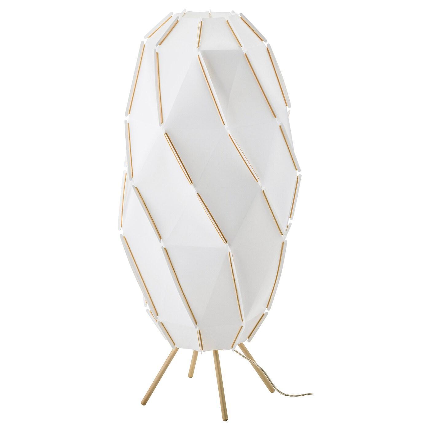 Ikea Stehlampe Papier Eckig