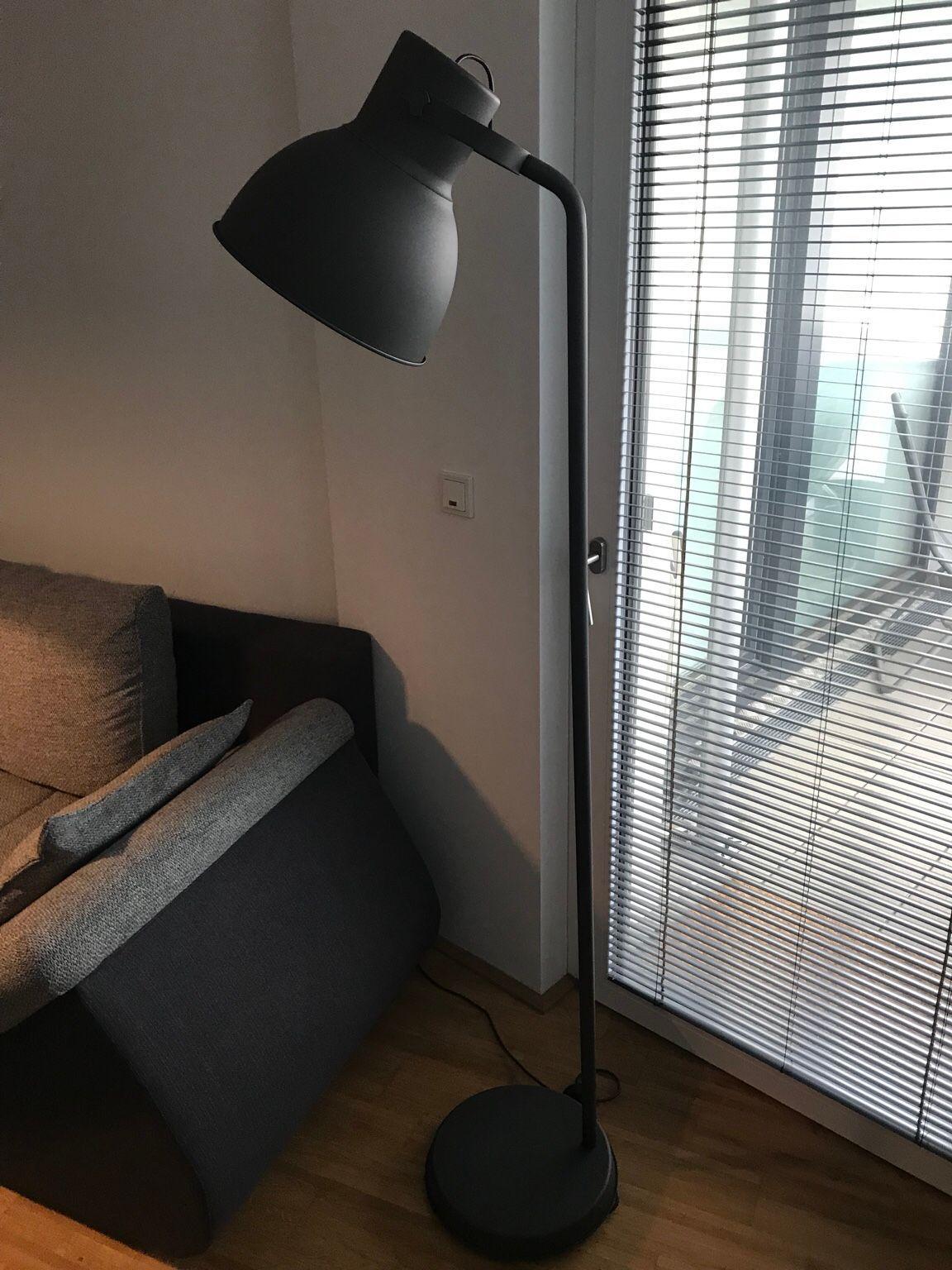 Ikea Stehlampe Schwarz