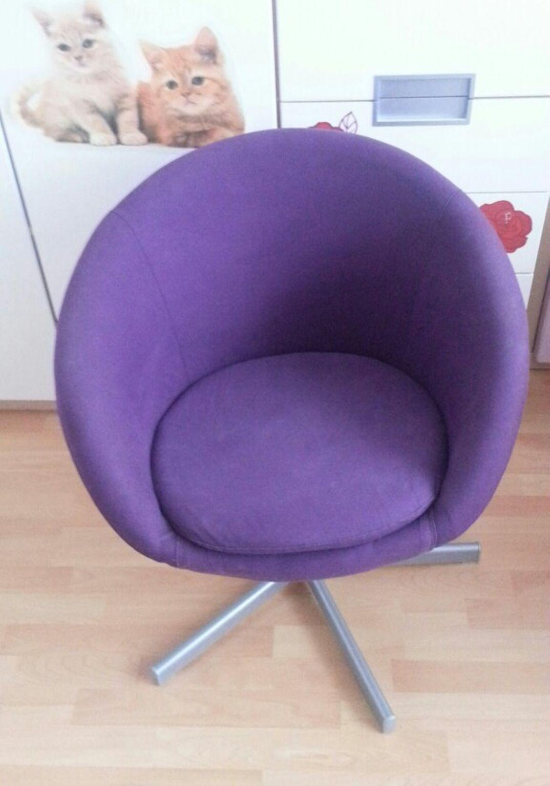 Ikea Stuhl Lila