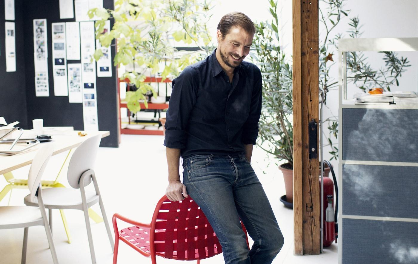Ikea Stuhl Stefan