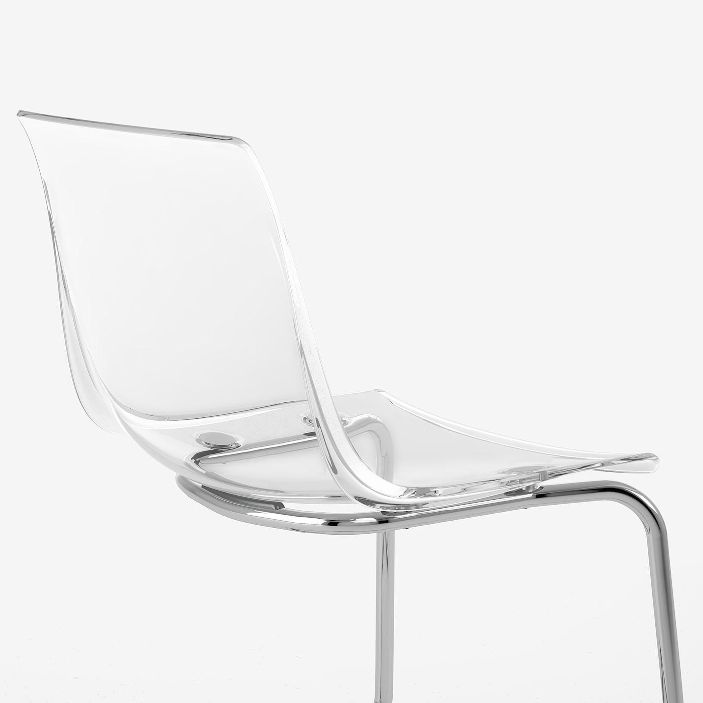 Ikea Stuhl Tobias Lila