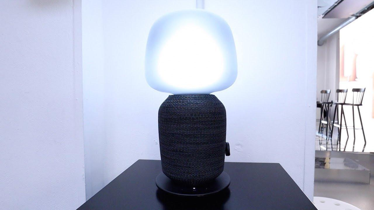 Ikea Tischlampe Grau