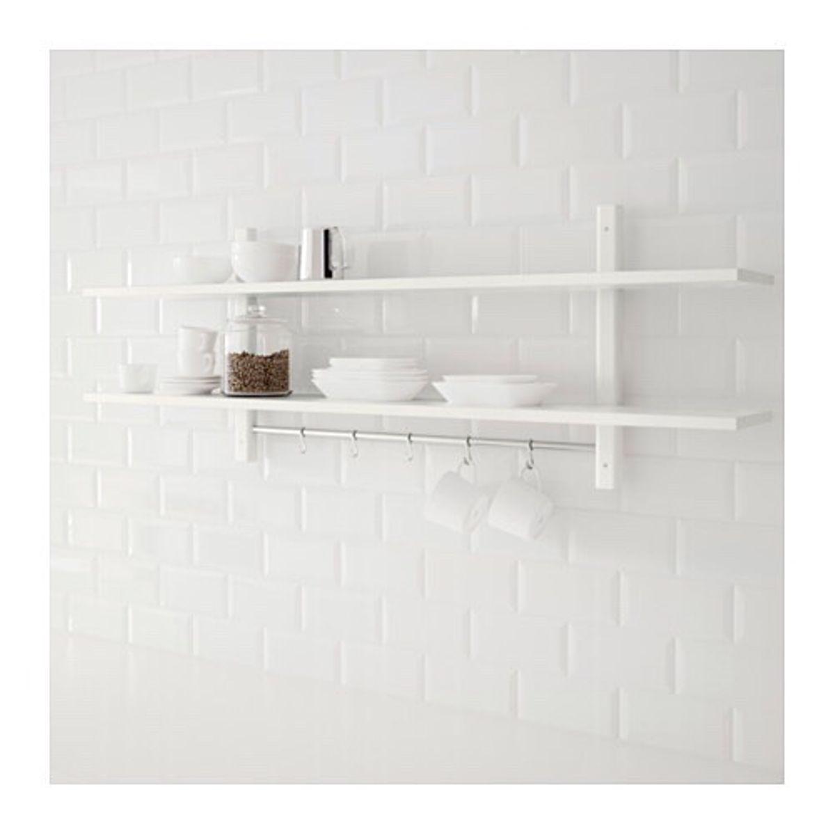 Ikea Wandregal Küche Holz