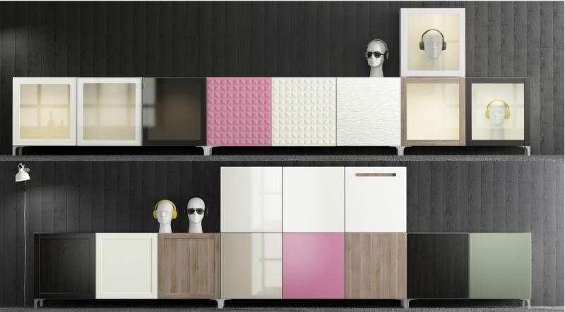 Ikea Wohnwand Besta