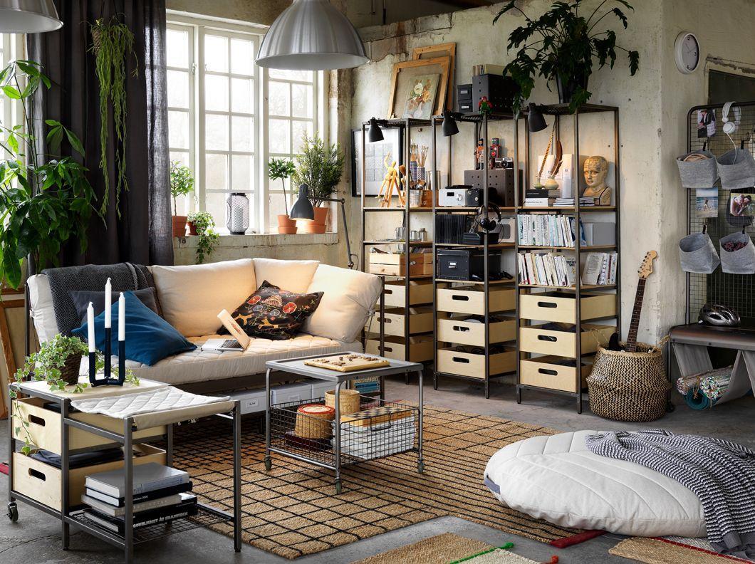 Industrial Style Möbel Ikea