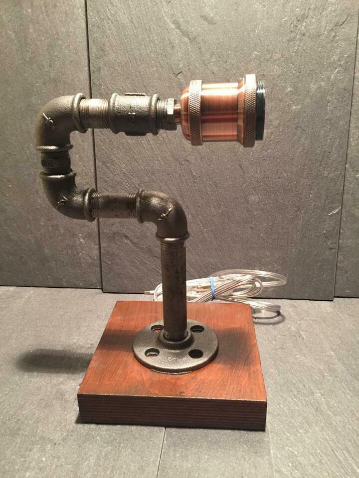 Industrie Rohr Lampe