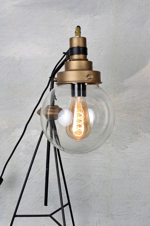 Industrie Stehlampe Retro