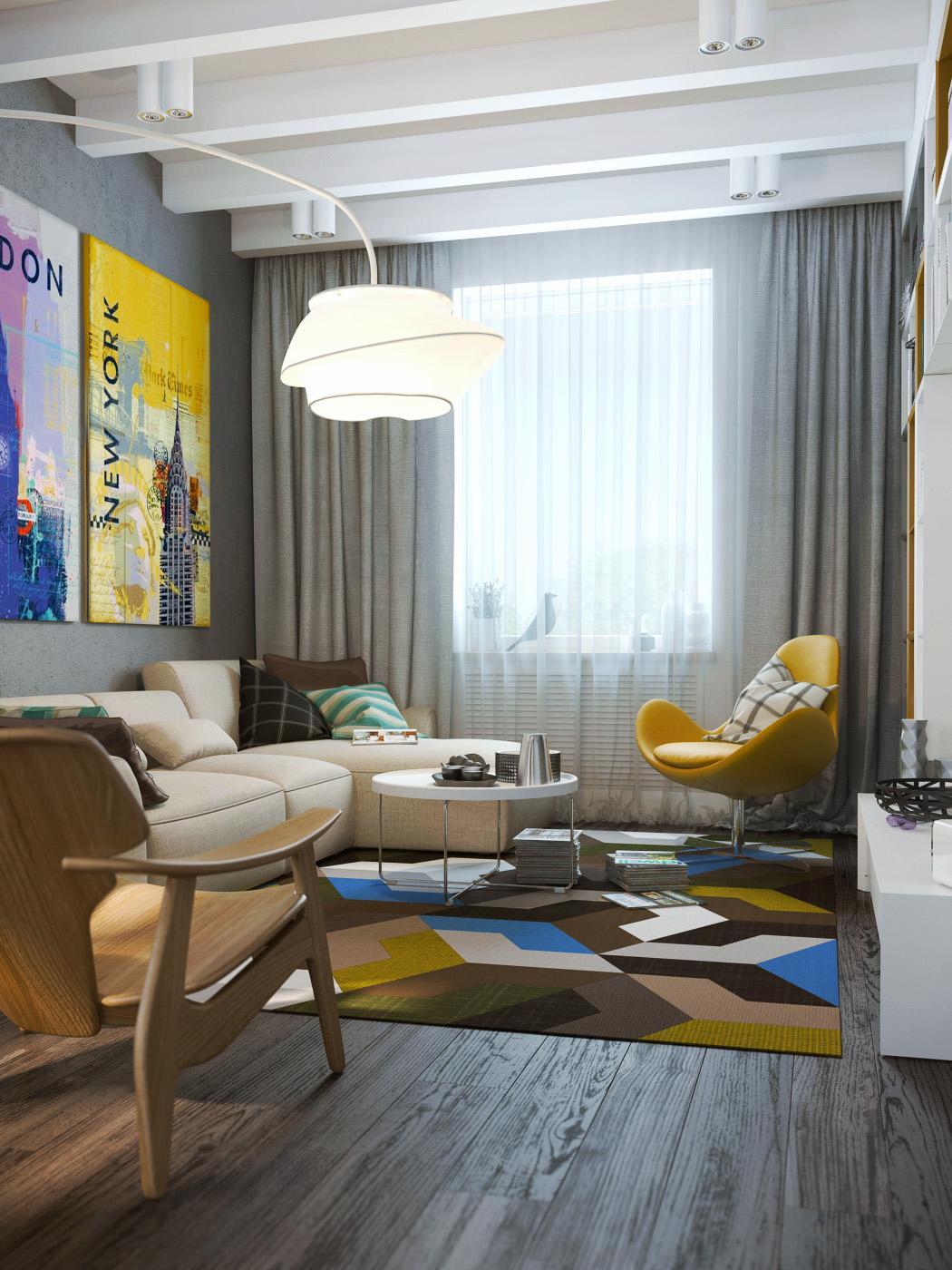 Interior Design Wohnzimmer Modern