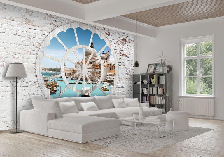 Italienische Tapeten Wohnzimmer