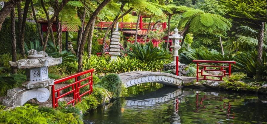 Japanische Gärten Bilder