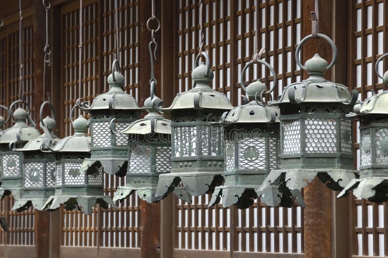 Japanische Laterne Metall