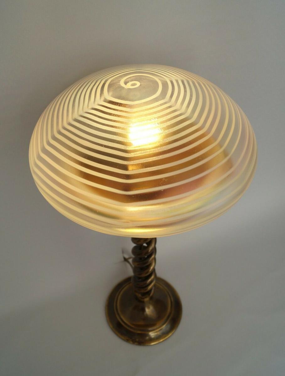 Jugendstil Lampe Antik