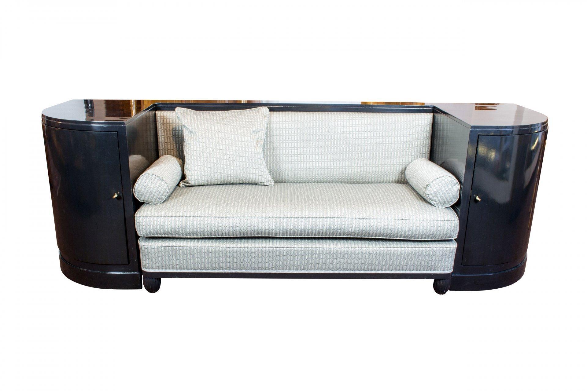 Jugendstil Möbel Sofa