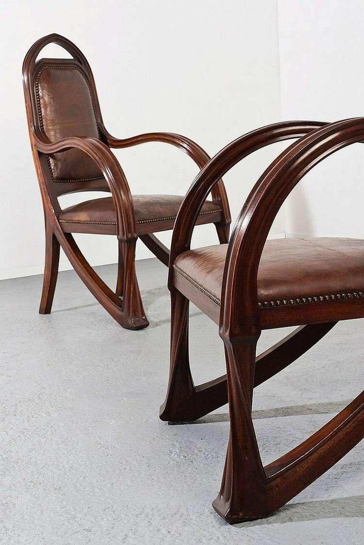 Jugendstil Möbel Stühle