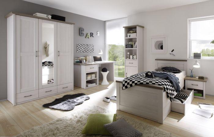 Jugendzimmer Bett Mit Kleiderschrank