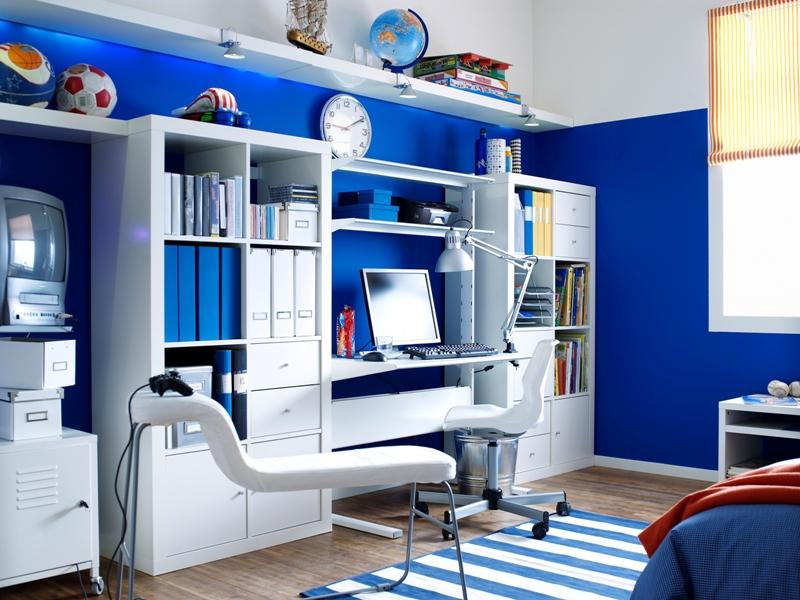 Jugendzimmer Ikea Regale Kinderzimmer