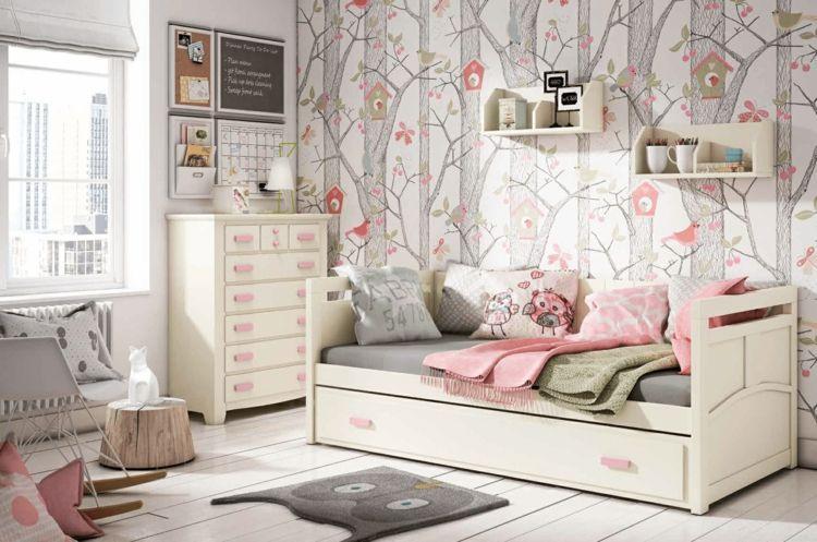 Jugendzimmer Weiß Rosa