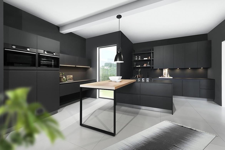 Küche Grifflos Modern