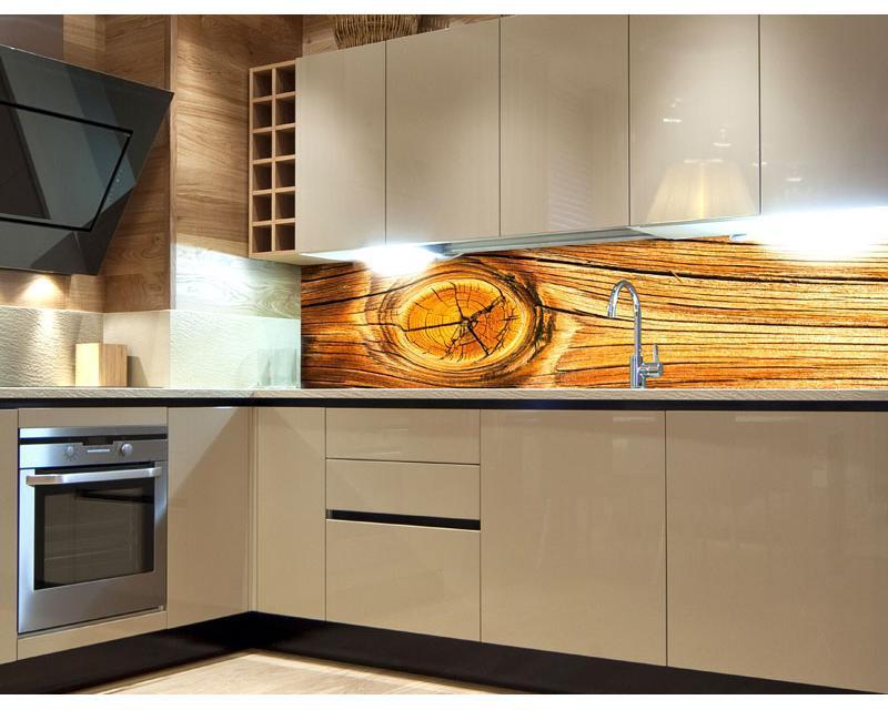 Küche Holzoptik Folie
