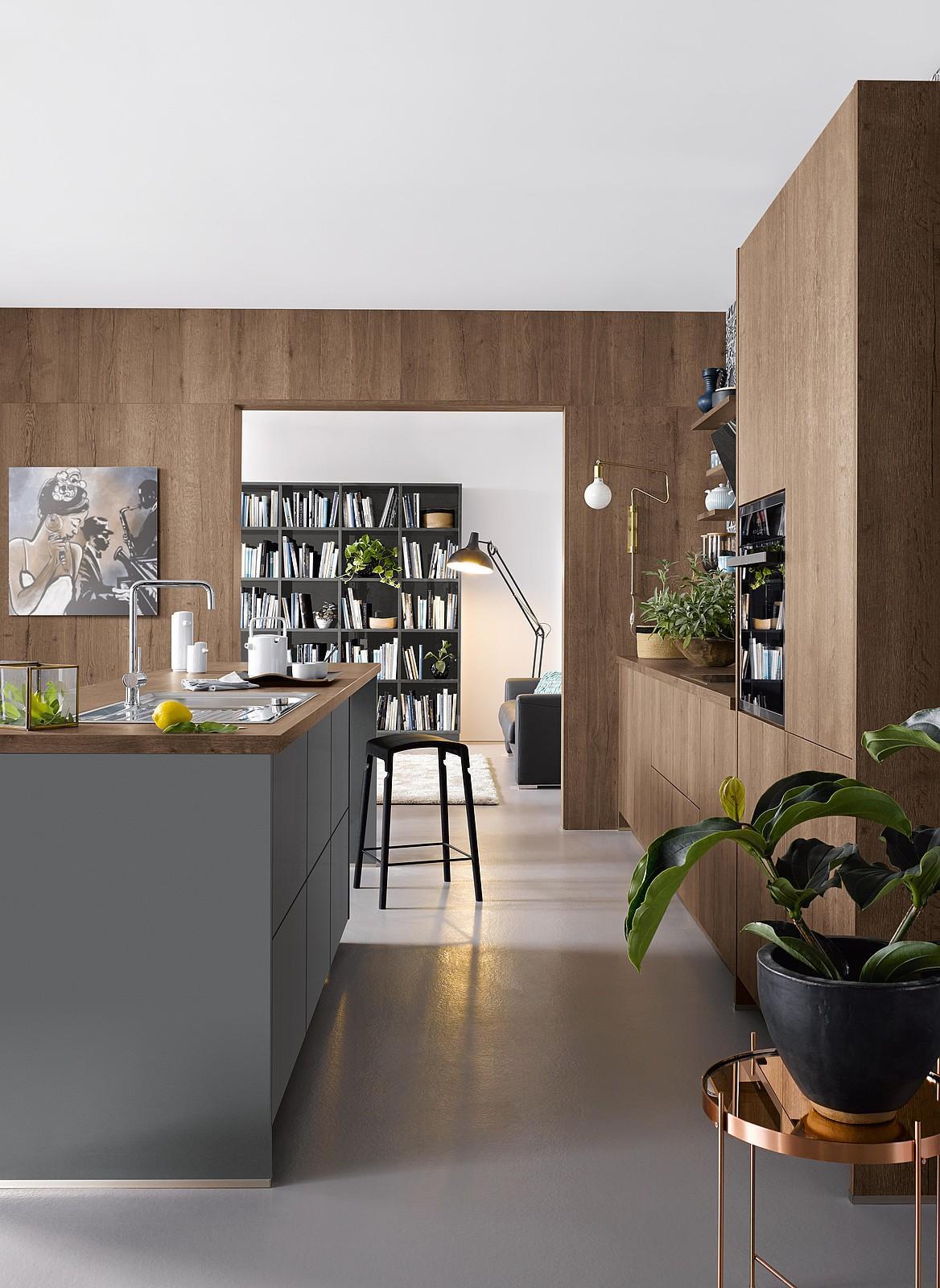 Küche Im Wohnzimmer Ideen