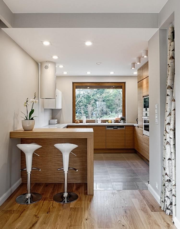 Küche Mit Tresen Klein