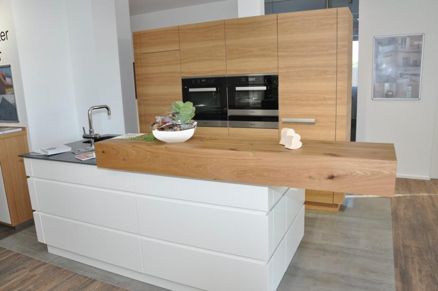 Küche Weiß Und Eiche