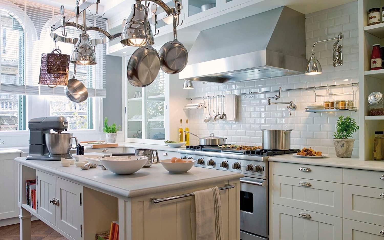 Küche Weiße Fliesen