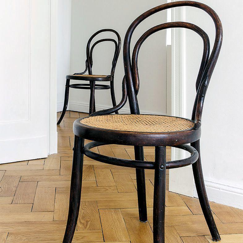 Kaffeehaus Thonet Stühle übersicht