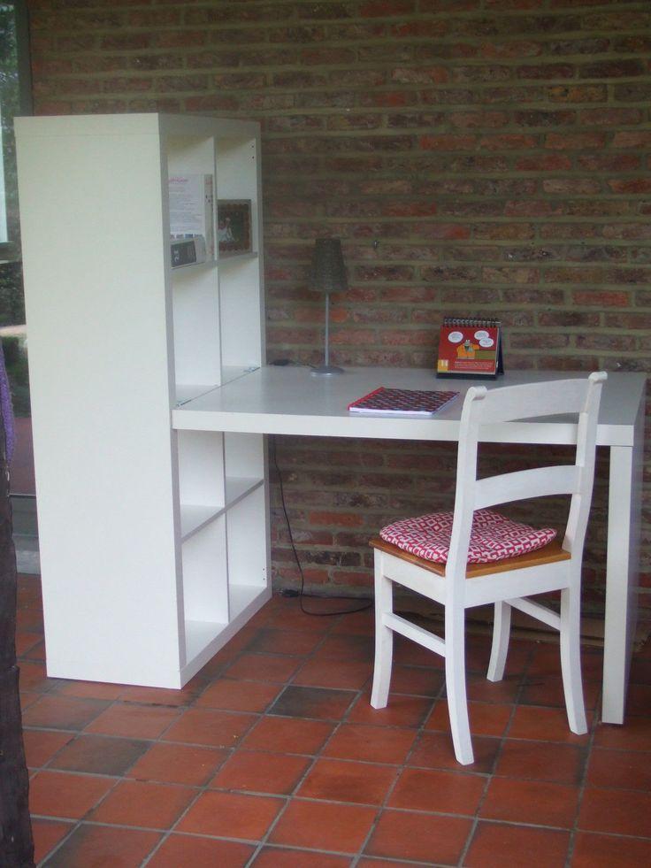 Kallax Schreibtisch 2×2