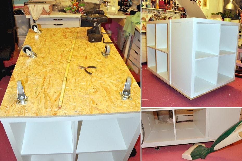 Kallax Schreibtisch Klappbar