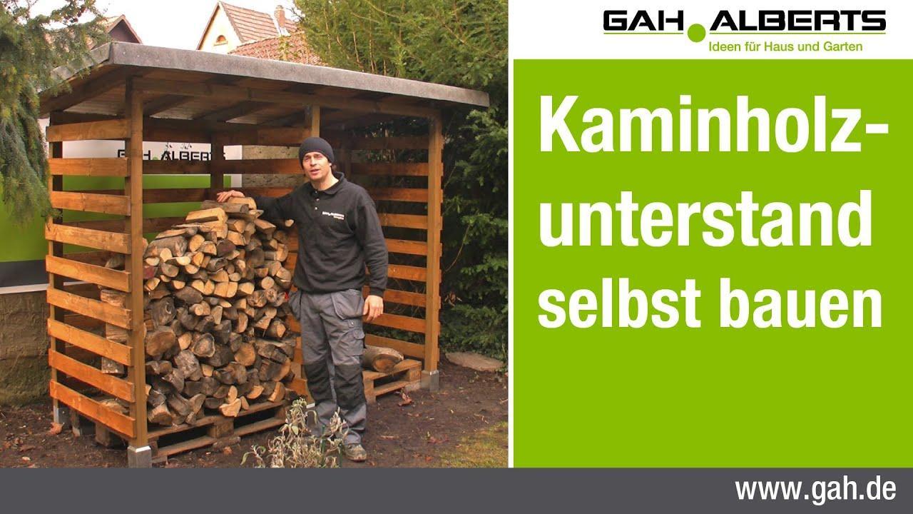Kaminholzregal Für Wohnzimmer Selber Bauen