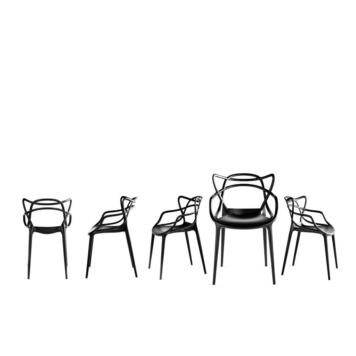 Kartell Masters Chair White