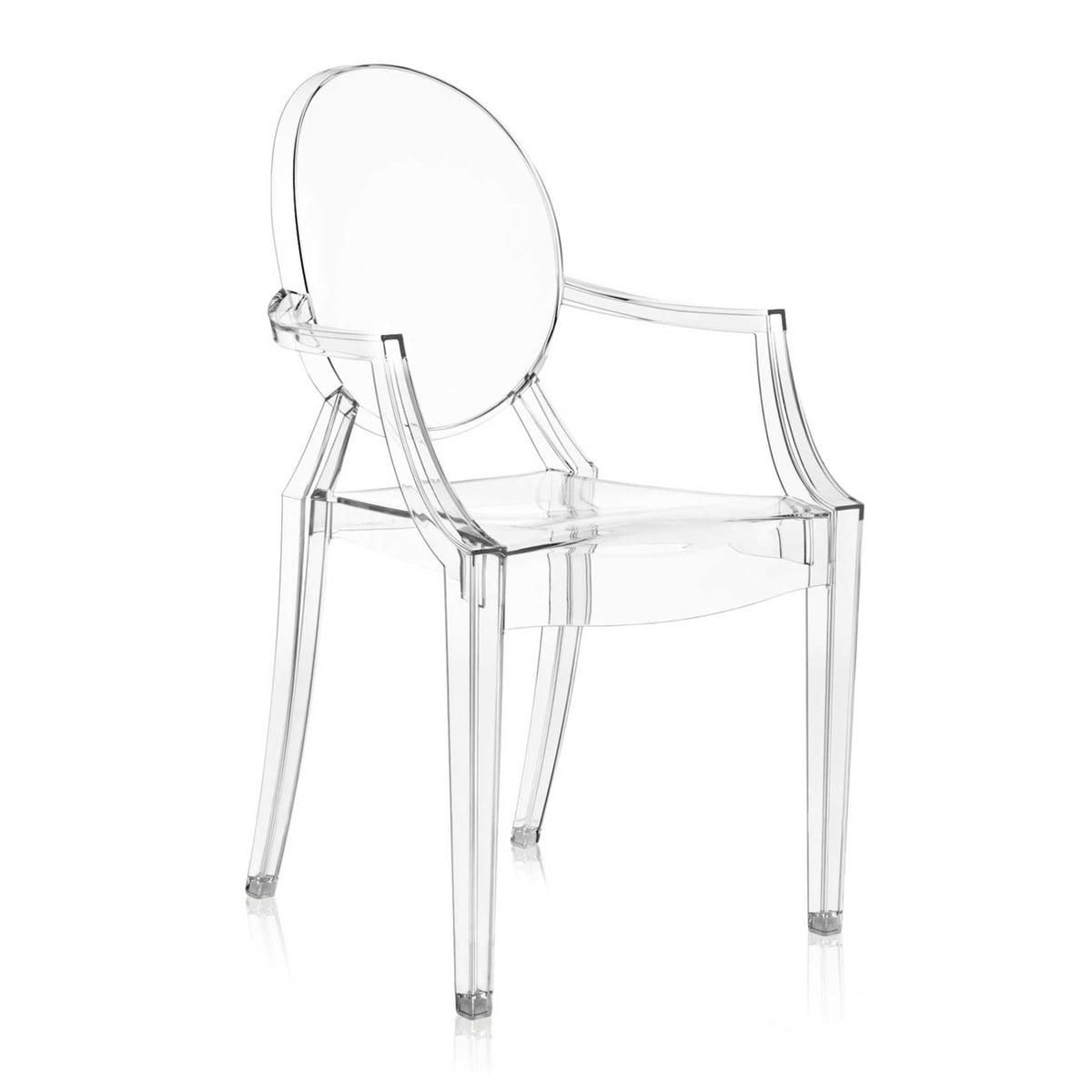 Kartell Stuhl Transparent