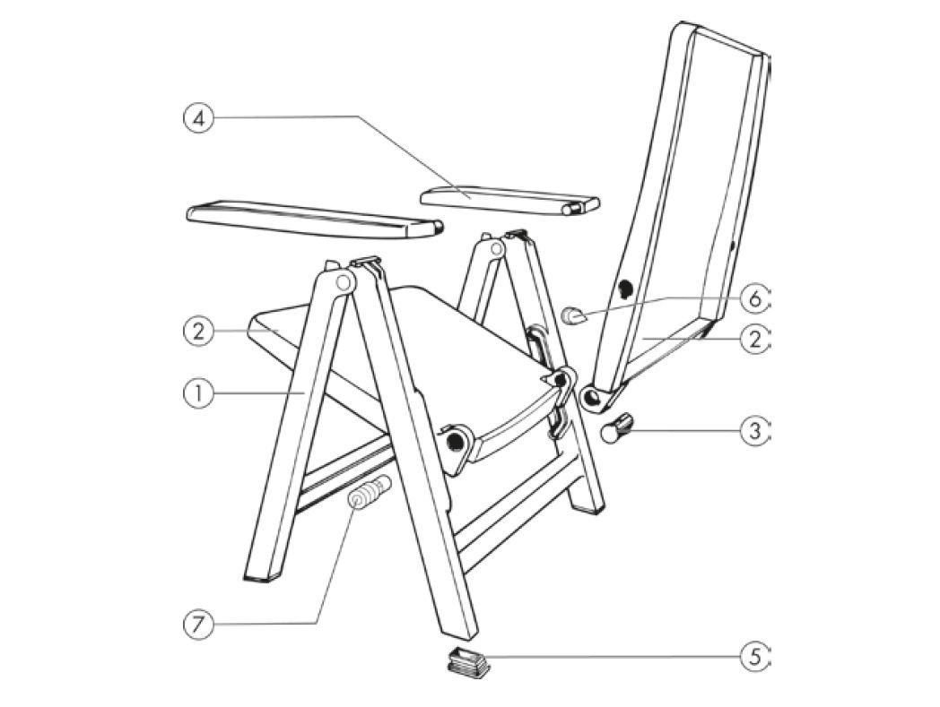 Kettler Gartenstühle Ersatzteile
