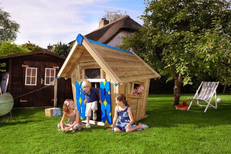 Kinder Spielhaus Garten Holz