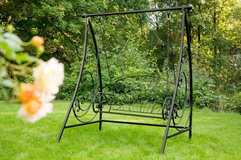 Kinderschaukel Garten Metall