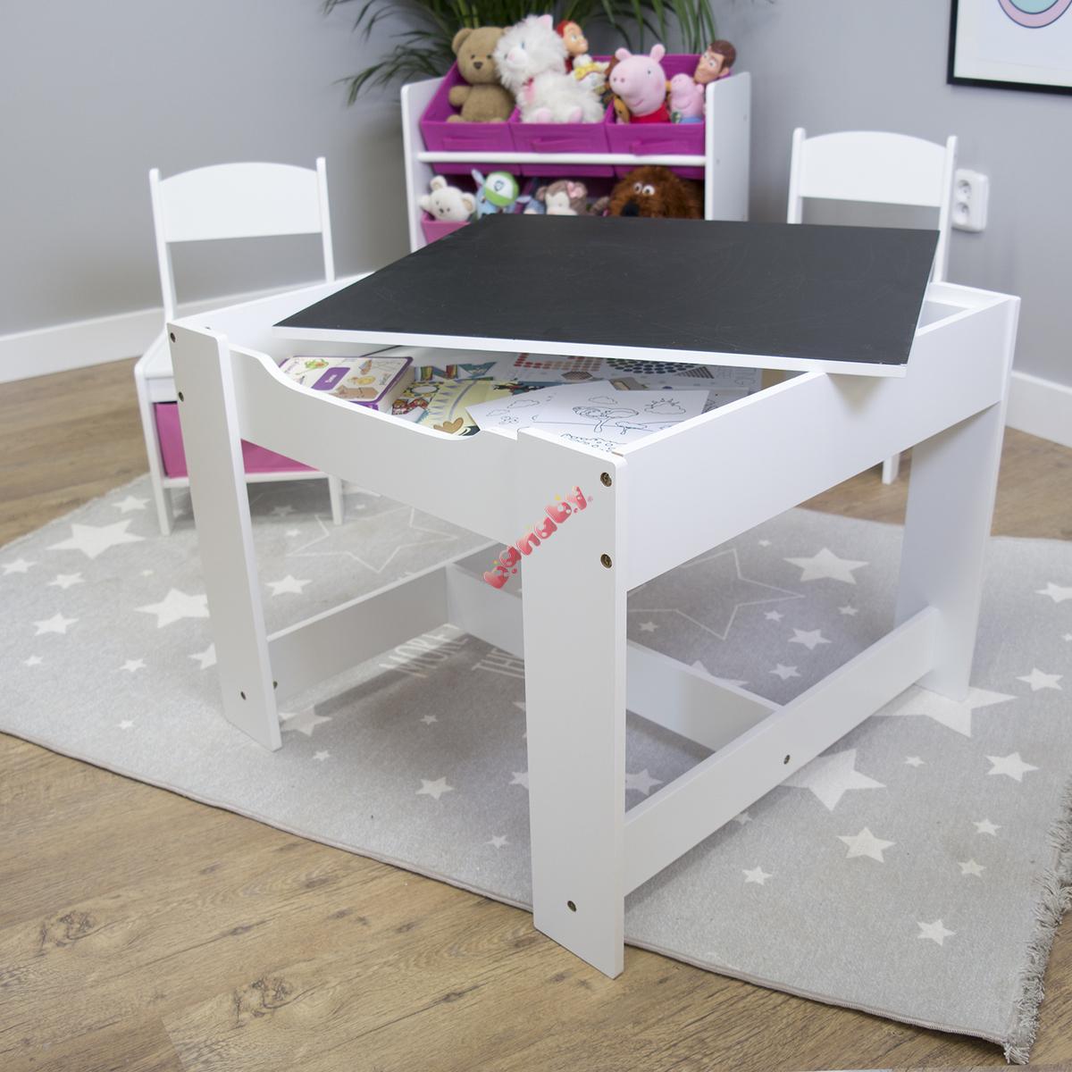 Kindertisch Mit Stühlen Hasenohren