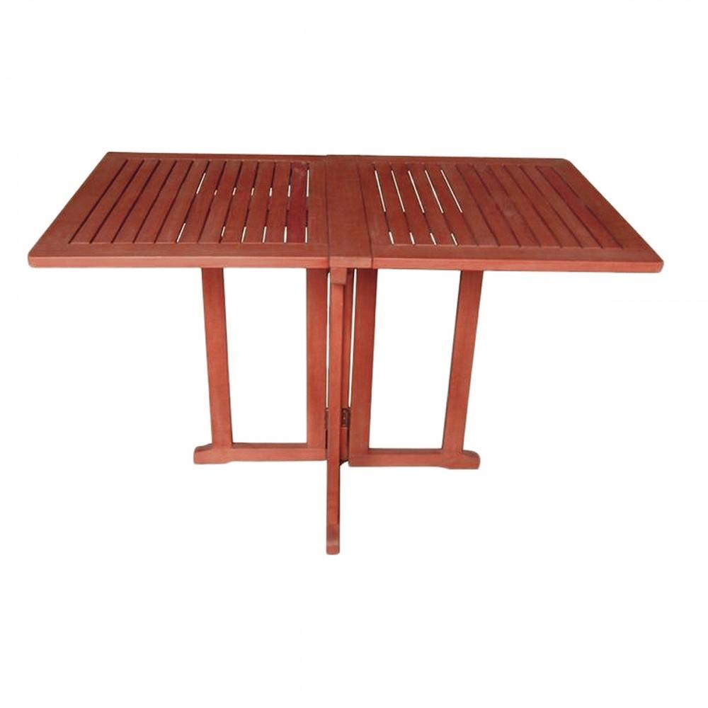 Klappbarer Gartentisch Holz