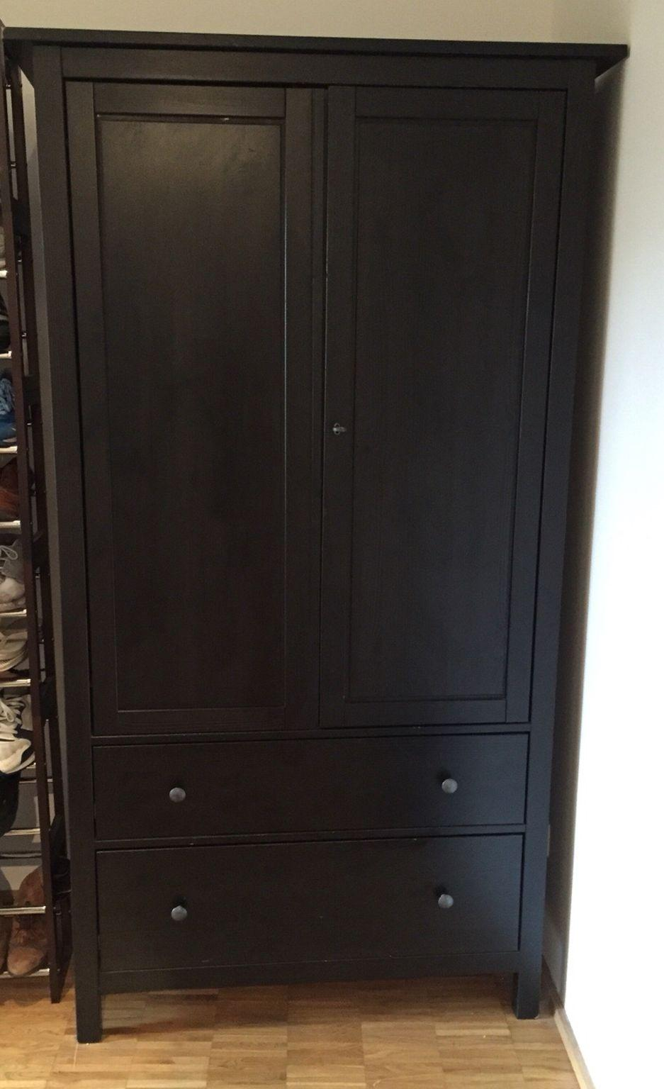 Kleiderschrank Dunkelbraun Ikea