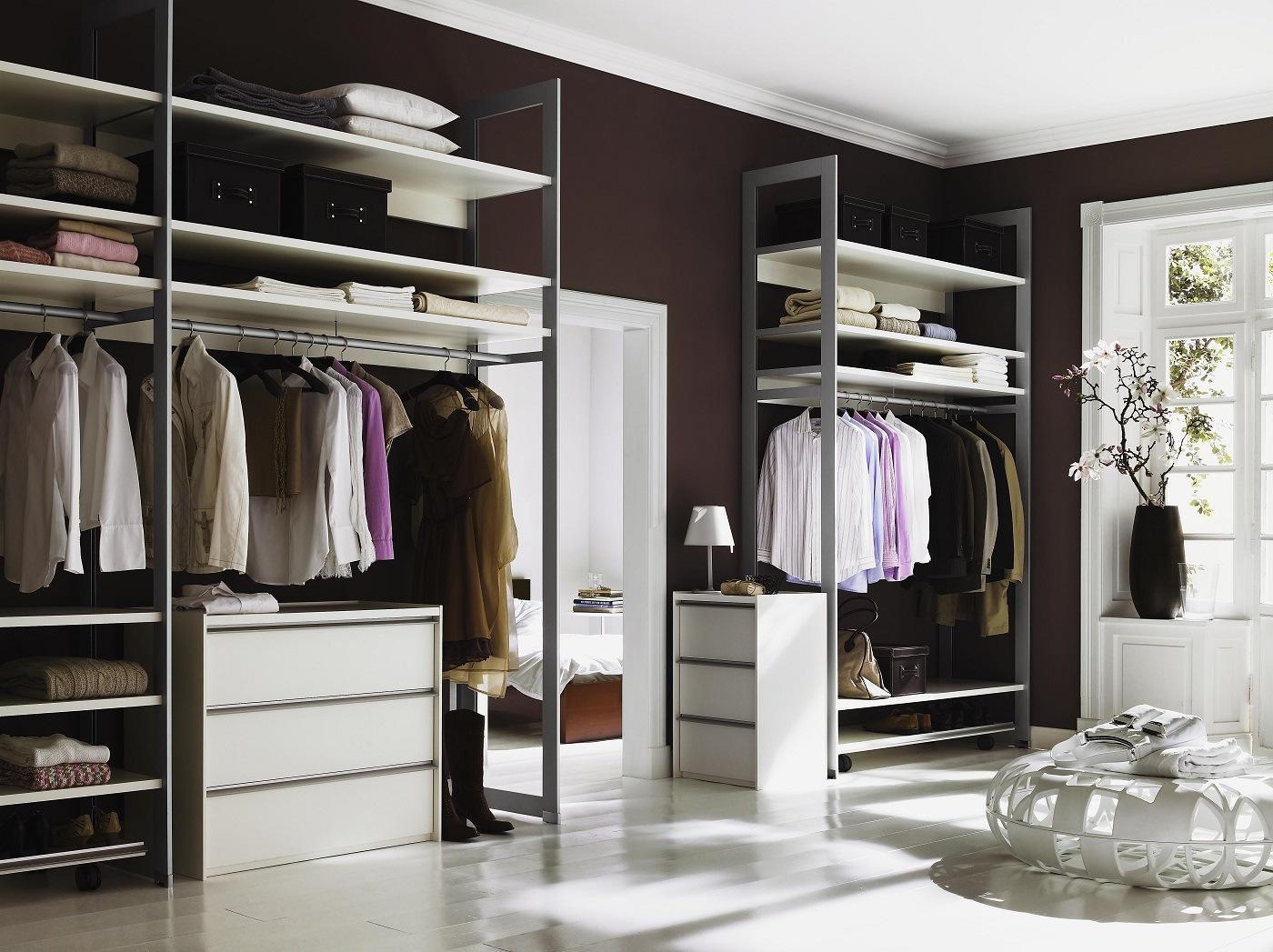 Kleiderschrank Ideen Wenig Platz