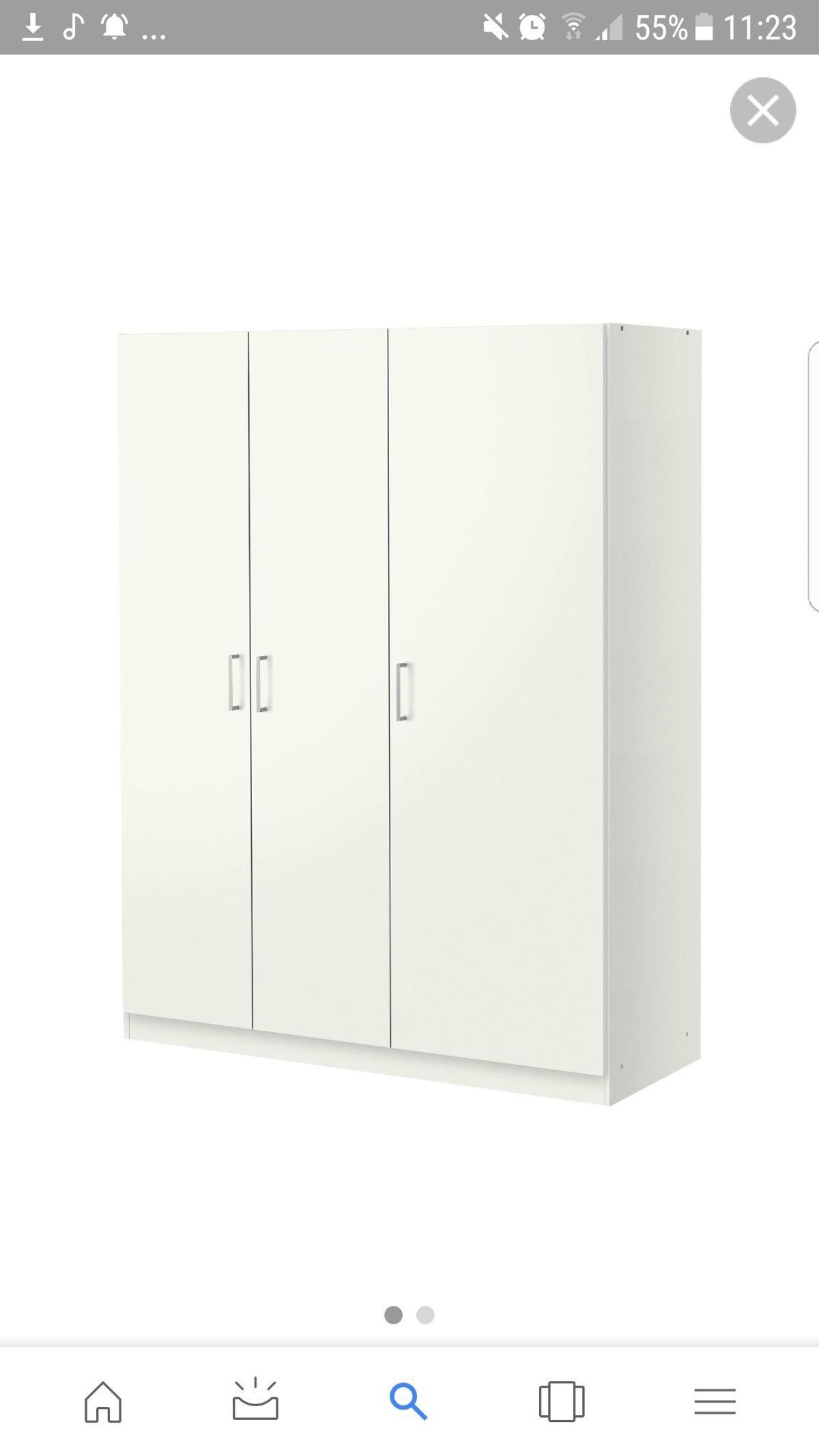 Kleiderschrank Ikea Dombas