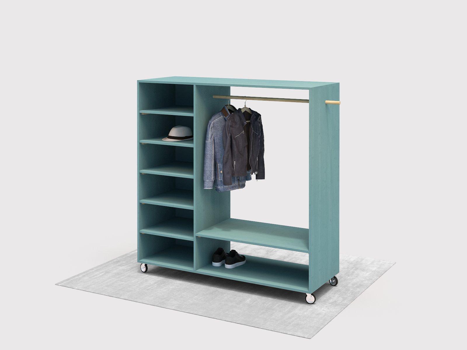 Kleiderschrank Industrial Selber Bauen