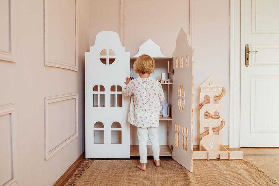 Kleiderschrank Kinderzimmer Weiß