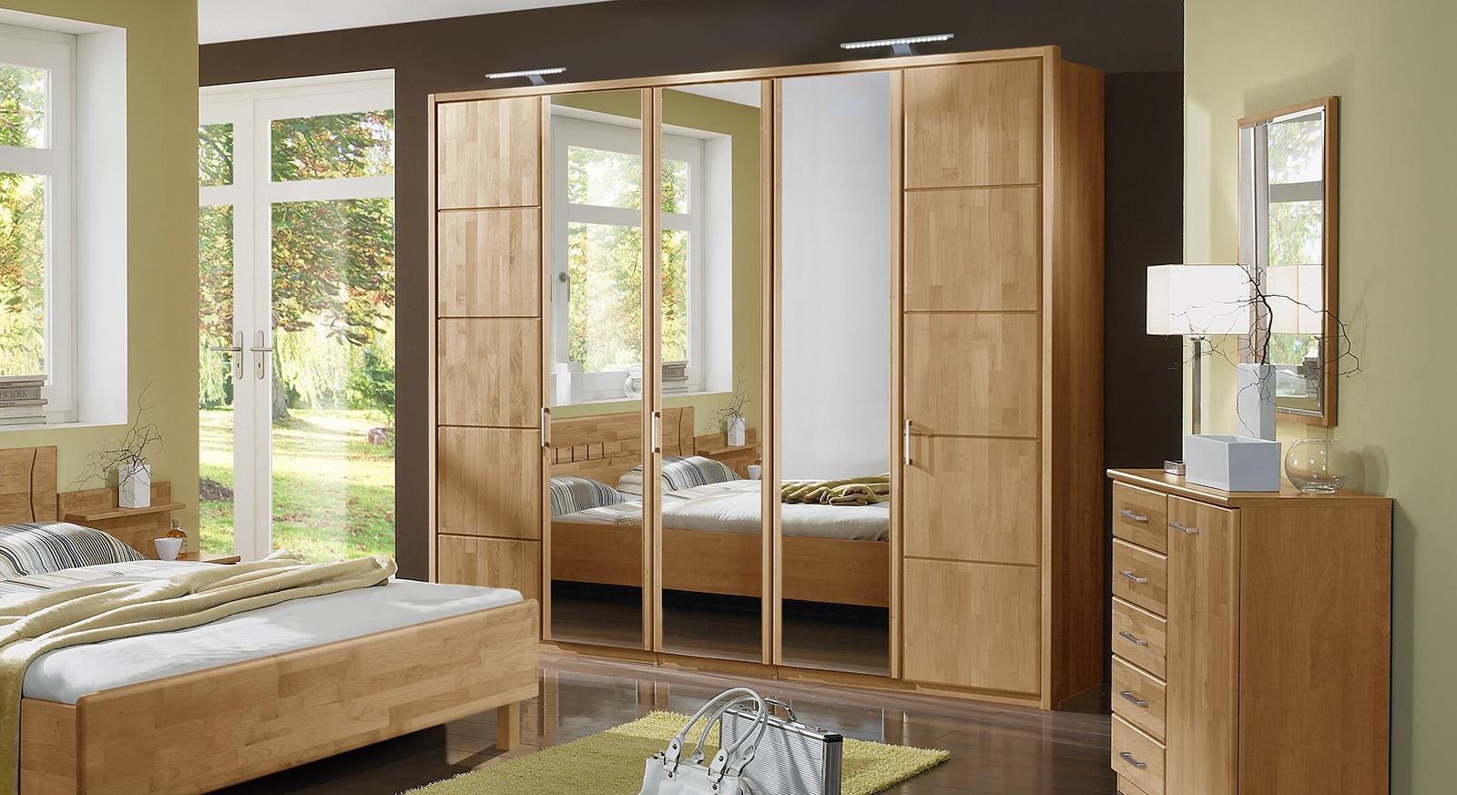 Kleiderschrank Modern Holz