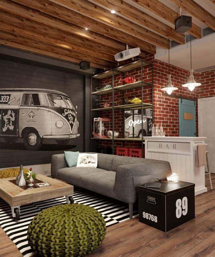 Kleine Bar Wohnzimmer